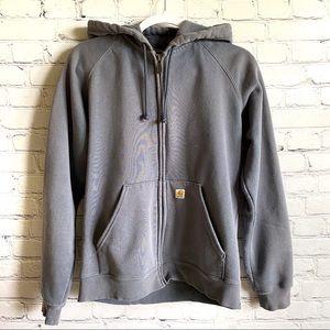 Carhartt Full Zip Hooded Sweatshirt